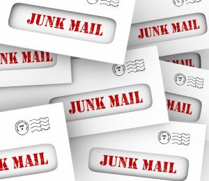 Junk Mail Pile Stack Envelopes Direct Marketing Advertising Lett